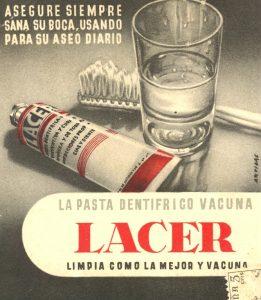 anuncio antiguo Lacer