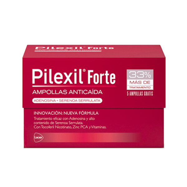 Pilexil Forte Ampollas Anticaída