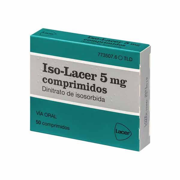 Iso-Lacer (dinitrato de isosorbida)